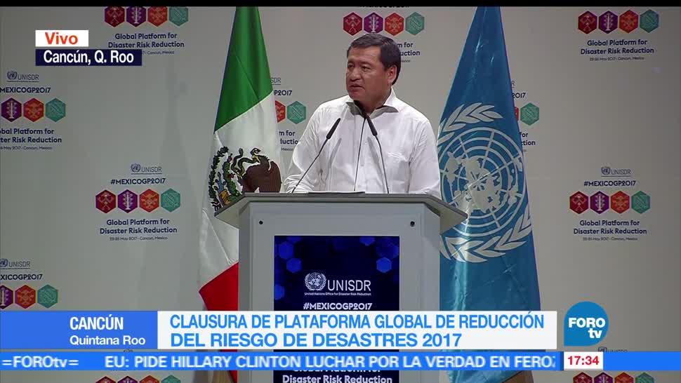 noticias, forotv, Miguel Ángel Osorio Chong, resalta avances, atender, desastres naturales