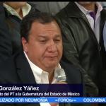 PT, declina, por, Morena, Oscar Gonzalez, Delfina Gómez