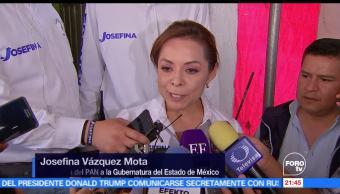 Vázquez Mota, visita, municipio, Nicolás Romero, elecciones edomex
