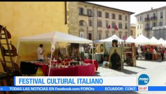 Festival, cultural, italiano, México, cultura, embajada de Italia