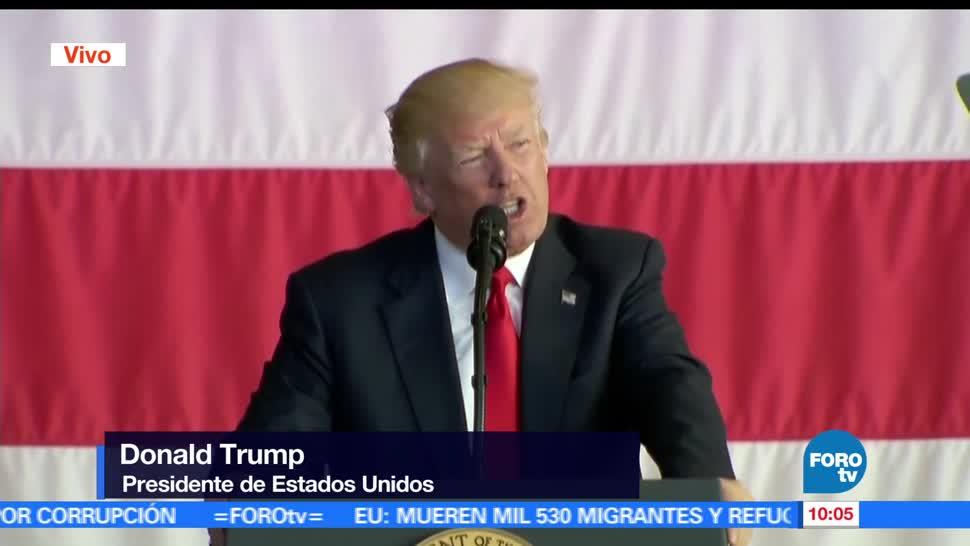 Trump, base militar, Estados Unido, Italia