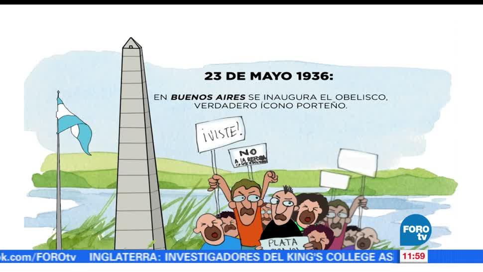 Obelisco, Buenos Aires, día, porteño