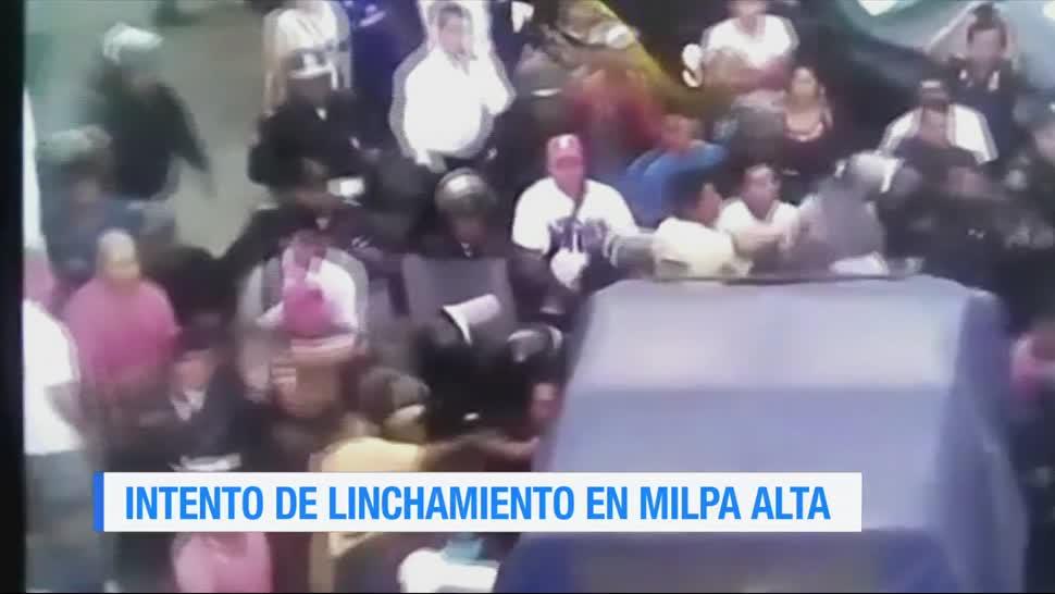 Intento, linchamiento, Milpa Alta, Ciudad de México, cdmx, crimen
