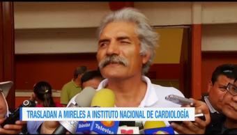 Trasladan, Mireles, Instituto Nacional de Cardiología, CDMX, líder, autodefensas