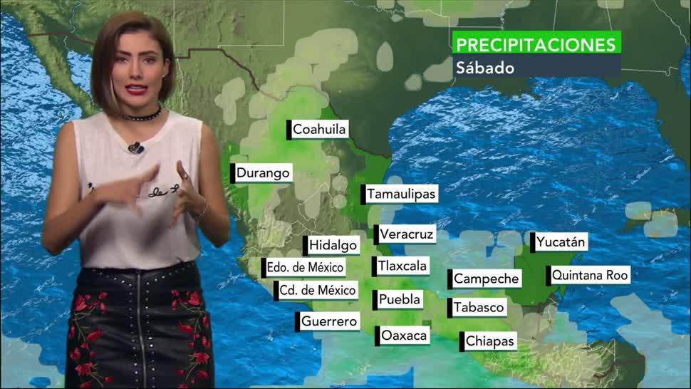 Clima, domingo, Daniela Álvarez, Temperatura, lluvia, temperatura