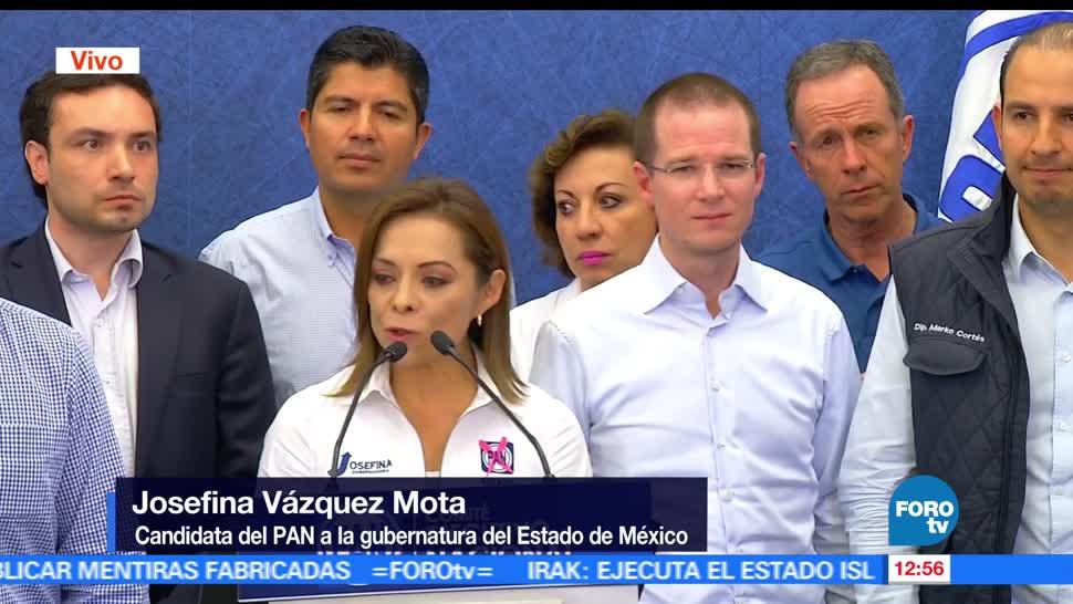 Ricardo Anaya, PAN, PGR, Josefina Vázquez Mota, candidata, delito