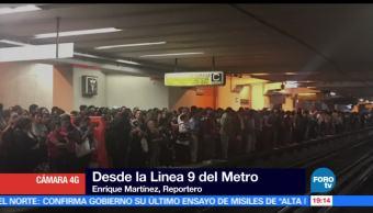 noticias, forotv, Fallas, servicio, L9, Metro