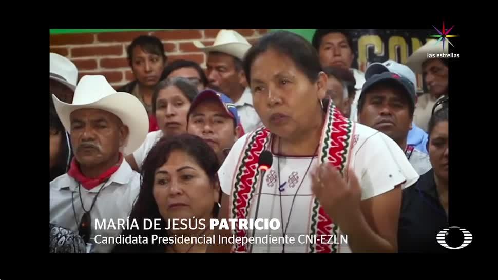 noticias, televisa, Indígenas, candidata presidencial, EZLN, elección presidencial del 2018
