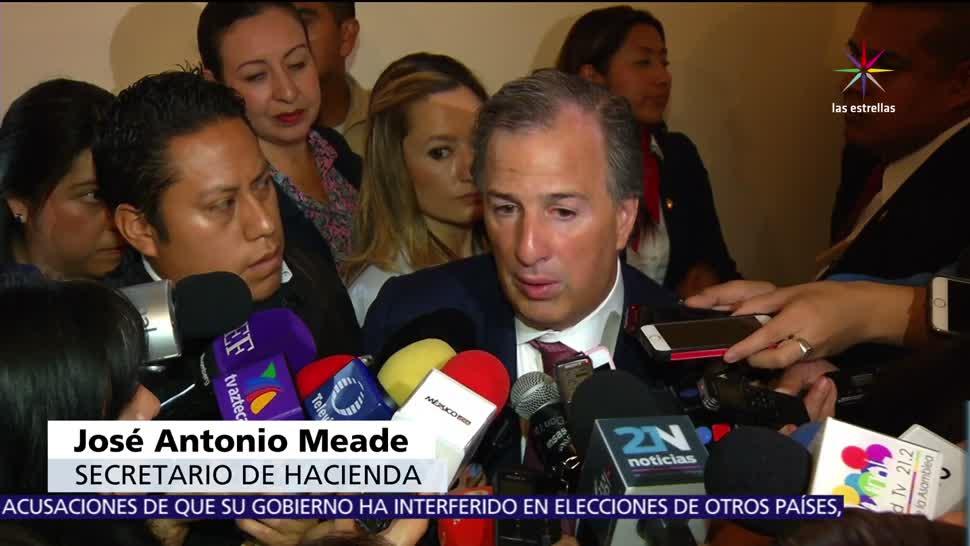 José Antonio Meade, secretario de Hacienda, México, modelo de Colombia, huachicoleros