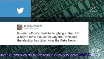 Donald Trump, Rusia, demócratas, electoral del 2016, fake news