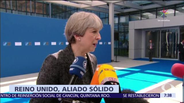 Theresa May, discurso de Angela Merkel, Reino Unido, aliado sólido, Unión Europea