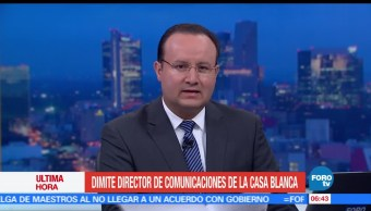 Mike Dubke, director de comunicacionespresidente estadounidense, Donald Trump