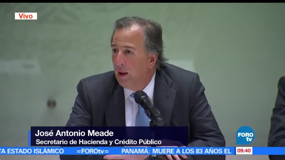 secretario de Hacienda, José Antonio Meade, estrategia, robo de combustible