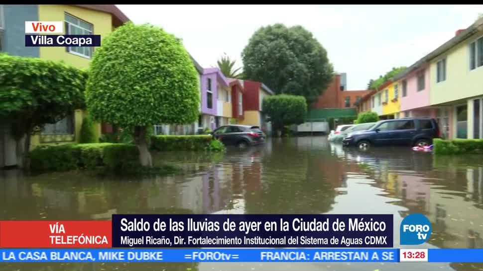 mantiene, pronóstico, Miguel Ricaño, lluvias intensas