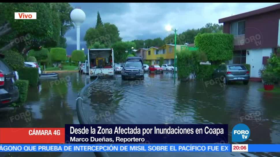 noticias, forotv, continúan, labores de desazolve, zona residencial, Coapa