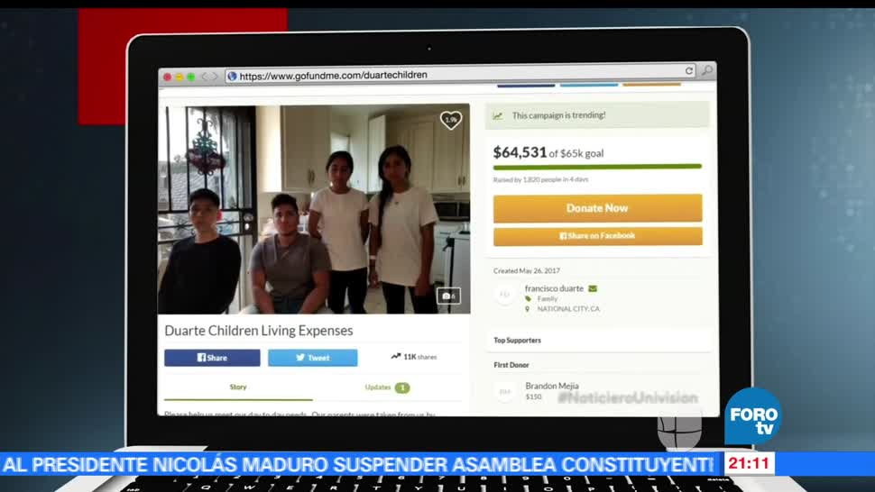 noticias, forotv, Edrama, cuatro hermanos, Duarte, California