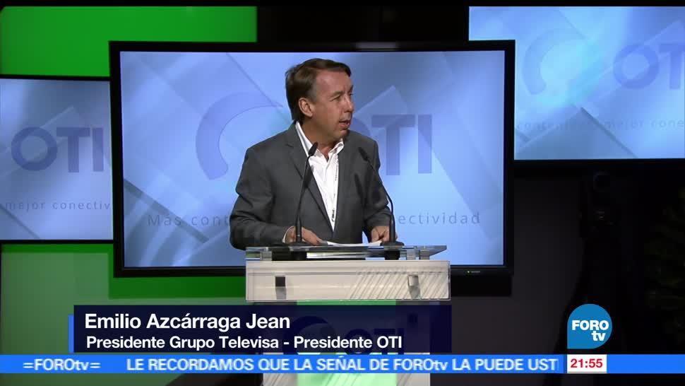 noticias, forotv, Emilio Azcárraga Jean, inaugura, tercera reunión, OTI