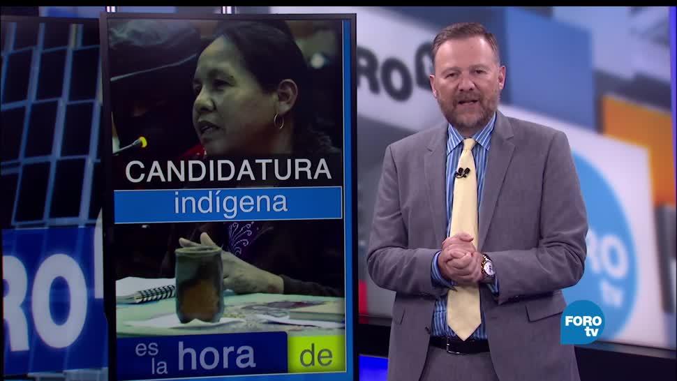noticias, forotv, Candidatura indígena, candidatura, ezln, elecciones de 2018