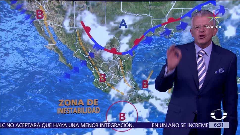 tormentas fuertes, sistema de tormentas, México, intensas