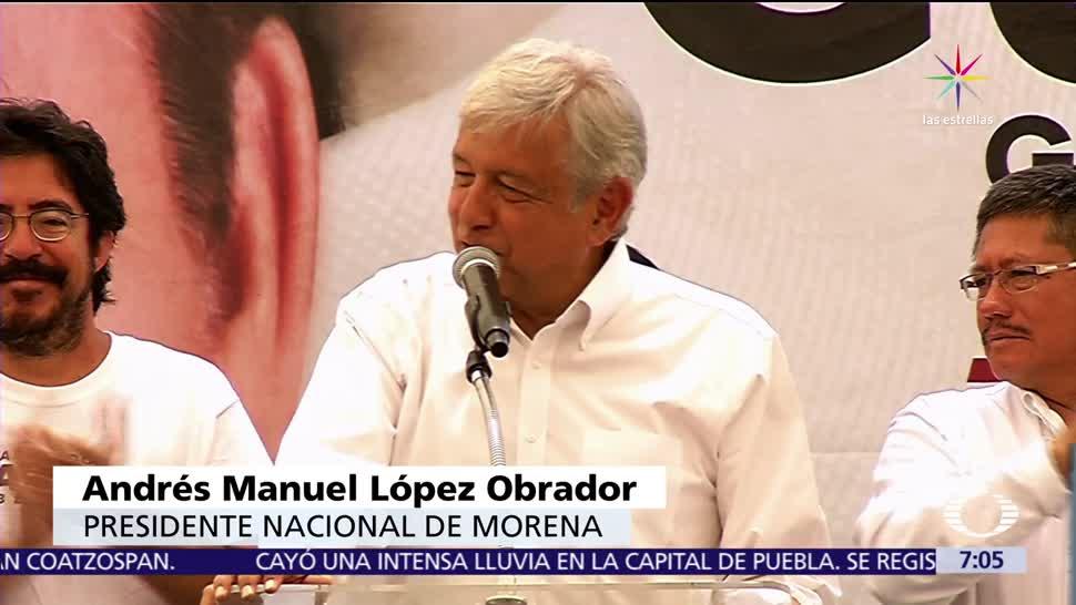 Andrés Manuel López Obrador, Morena, primera fuerza política, México, PAN, PRI