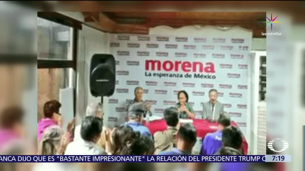 Martí Batres, presunto comunicado de Morena, Maduro, intervención en asuntos extranjeros