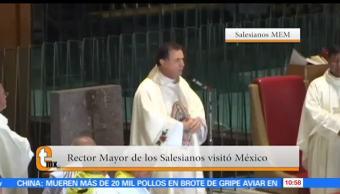 Esteban Arce, reportaje, Rector Mayor, Salesianos, visitó México