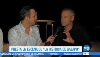 Ulises de la Torre, entrevista, mago Frank, puesta en escena, La historia de Gazapo