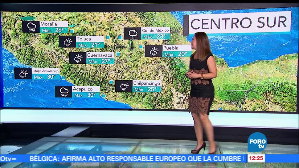 Ciudad de México, temperatura, lluvias, tormenta eléctrica