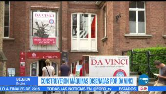 Bélgica, exhibición, obra del pintor italiano, Leonardo da Vinci