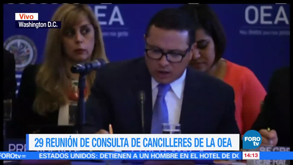 noticias, forotv, Analizan, OEA, situación, Venezuela