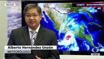 noticias, forotv, Alerta, Pacifico, mexicano, tormenta tropical Beatriz