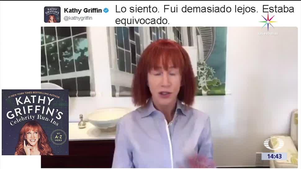 noticias, televisa, Katty Griffin, disculpa, trump, comediante