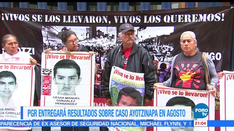 PGR, entregará, resultados, caso Ayotzinapa, 43, normalistas