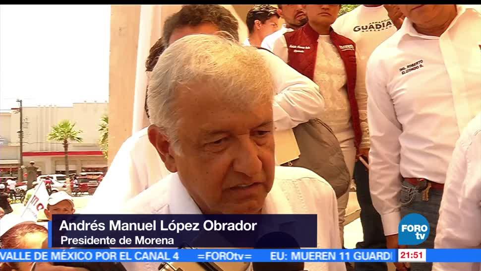 AMLO, llama, votar, Coahuila, Nayarit Estado de México, Veracruz,
