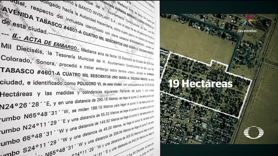 Alcalde, Sonora, se apropia, terreno, habitado, pagar deuda