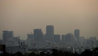 Contaminación en la Ciudad de México. (EFE)