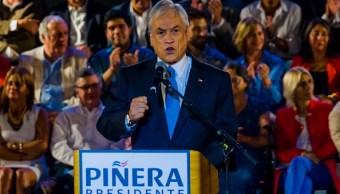 El expresidente chileno Sebastián Piñera tras ser proclamado candidato presidencial. (Getty Images/archivo)
