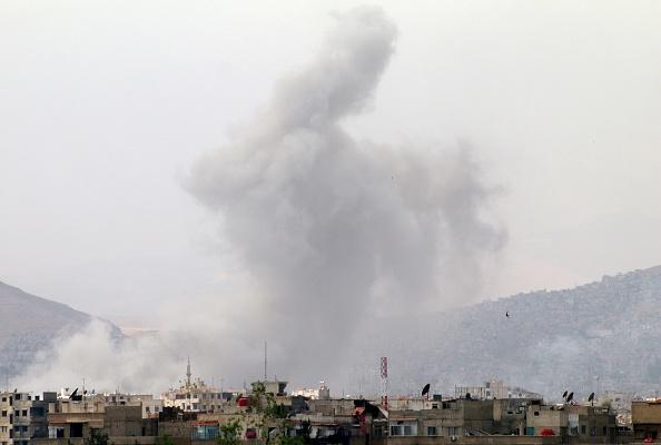 URUGUAY: La coalición internacional volvió a bombardear en Siria
