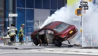 El conductor del automóvil embistió a 23 personas en Times Square de Nueva York. (Getty Images)