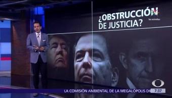 Donald Trump, James Comey, funcionario, administración con Rusia