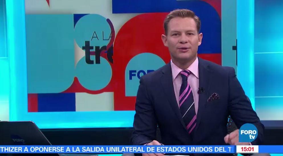 noticias, forotv, A las Tres, Programa, completo, 12 de mayo de 2017