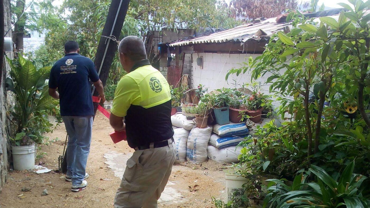 Afectaciones por lluvias en Guerrero