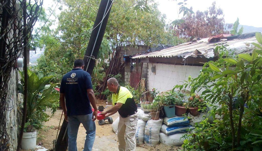Afectaciones por lluvias en municipios de Guerrero