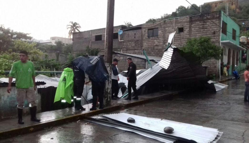 Afectaciones por lluvias en Pichucalco, Chiapas