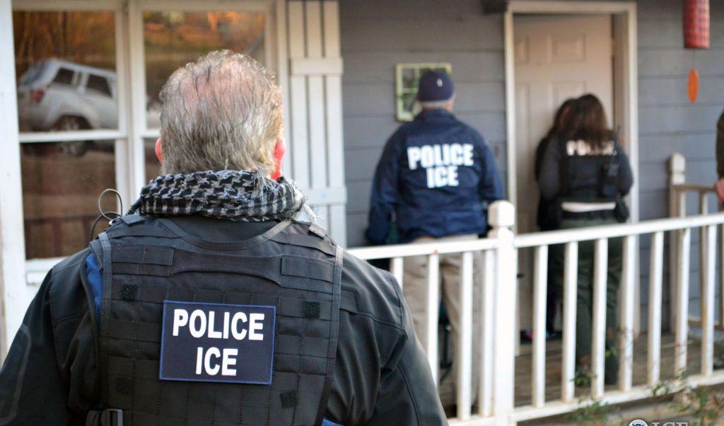Agentes, ICE, migrantes, pandillas, seguridad, Estados Unidos, Trump,