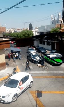 León, Guanajuato, policía, doble fila, patrulla, impunidad