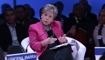 Alcicia Bárcena, secretaria general de la Cepal, habla del TLCAN