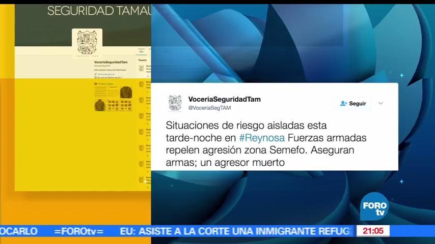 noticias, hora 21, Alertan, situaciones de riesgo, Reynosa, Fuerzas Armadas