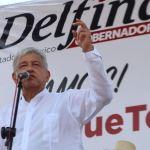 Andres Manuel López Obrador apoya a candidatos en Edomex y Nayarit