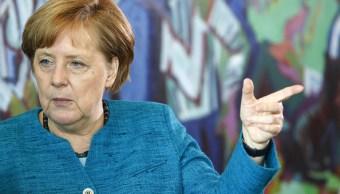 Angela Merkel, canciller de Alemania, señaló debilidades del euro